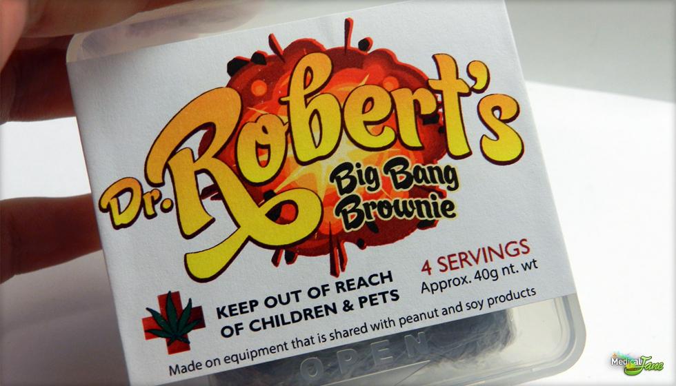 Big Bang Brownie from Dr. Robert's