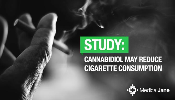 Study: Cannabidiol (CBD) May Reduce Cigarette Consumption