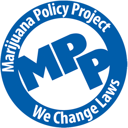 Logo for Marijuana Policy Project (MPP)