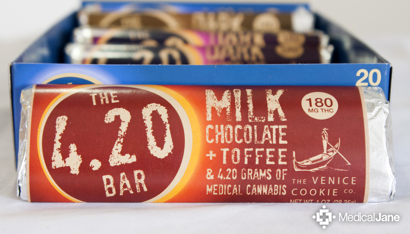 4.20 Bar: Milk Chocolate & Toffee from Venice Cookie Co.