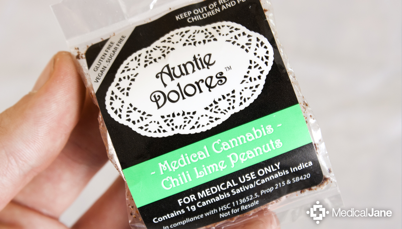 Medical Cannabis Infused Chili Lime Peanuts From Auntie Dolores