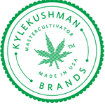 Logo for Kushman Veganics