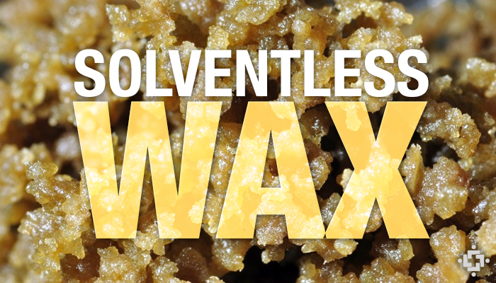 solventless wax machine
