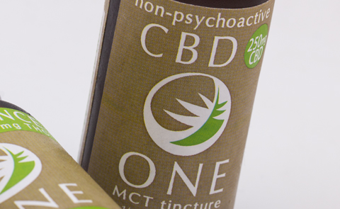 CBD One Tincture from The Venice Cookie Co.