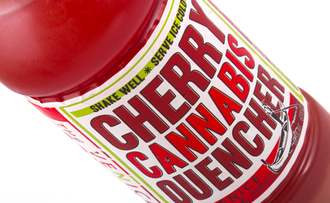 Cherry Cannabis Quencher from Venice Cookie Co