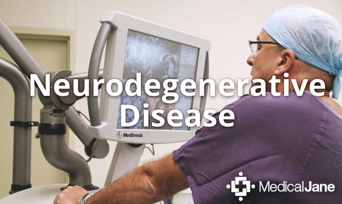 Neurodegenerative Diseases and Medical Marijuana