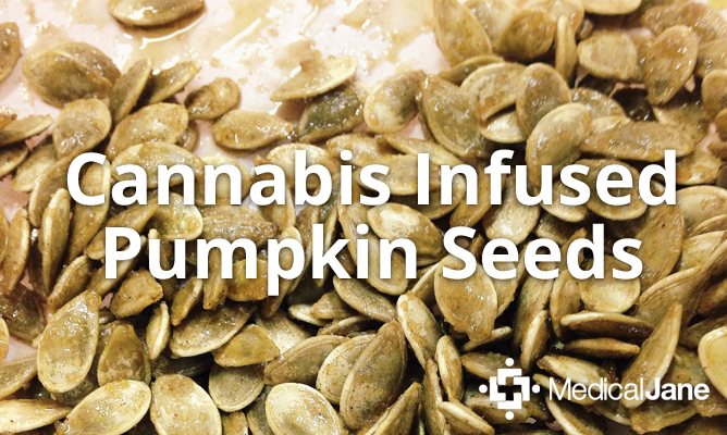 How To Make Cannabis Infused Pumpkin Seeds