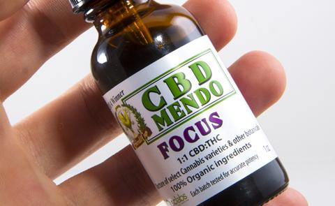 Focus Tincture 1:1 CBD:THC from CBD Mendo