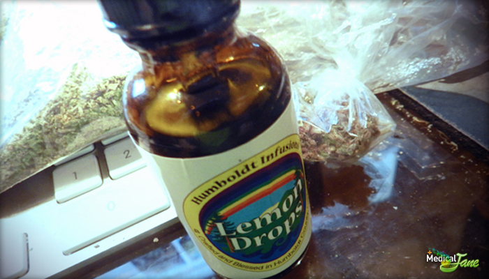 Lemon Tincture from Humboldt Infusions