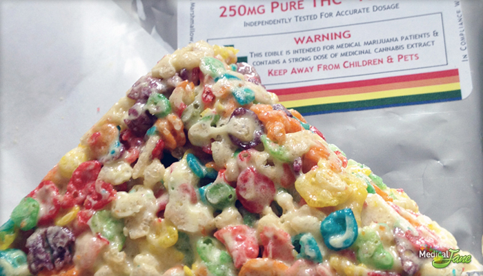 Fruity Rice Krispie Treat 100mg from Truly Edibles