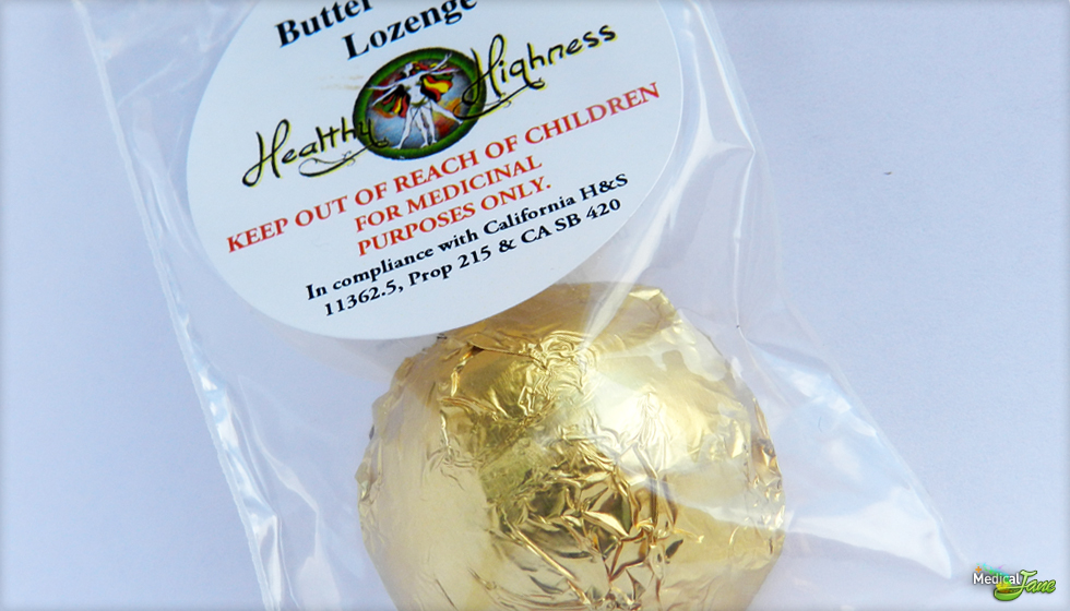 Butter Caramel Lozenge from Healthy Highness