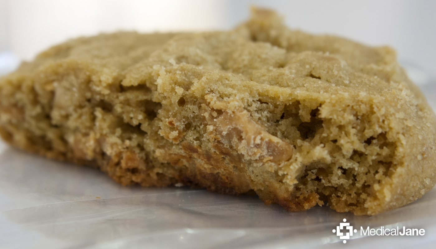 """Spaced Out"" Peanut Butter Cookie from Dr. Robert's"