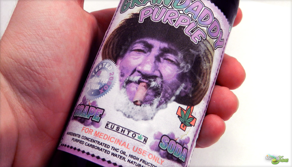 Granddaddy Purple Soda from Kushtown