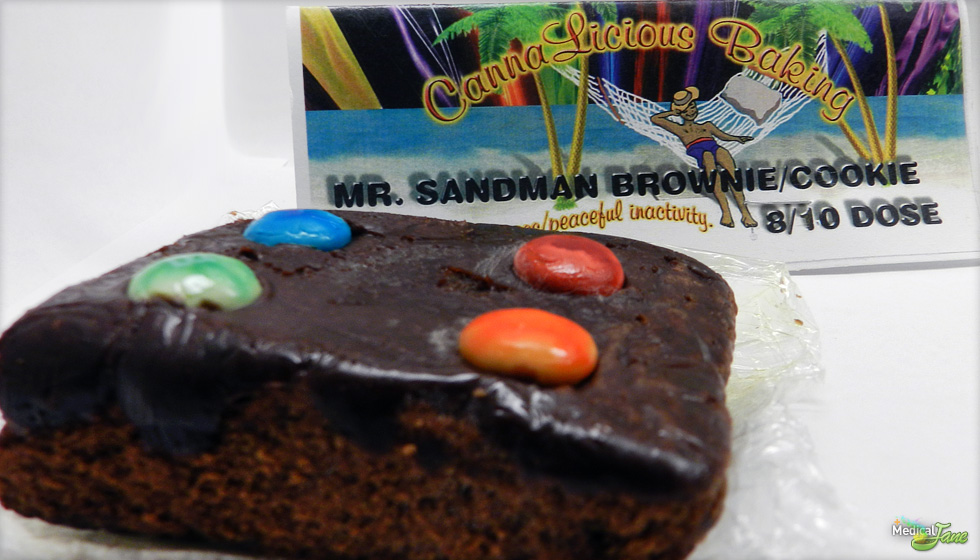 Mr. Sandman Brownie from CannaLicious Baking