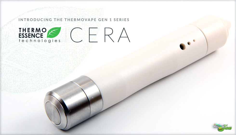 Thermovape Cera Vaporizer from Thermo-Essence Technologies