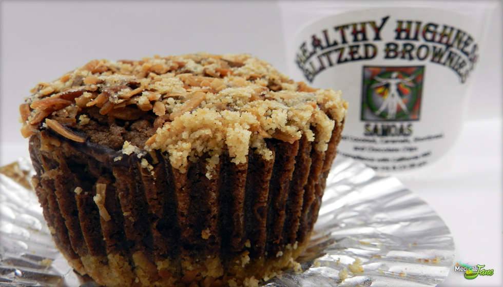 Samoas Brownie from Healthy Highness