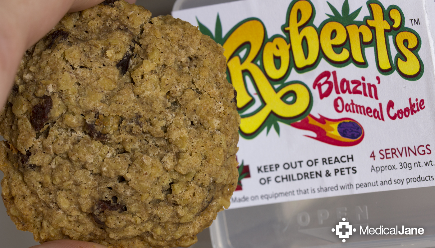 Blazin' Oatmeal Raisin Cookie from Dr. Robert's