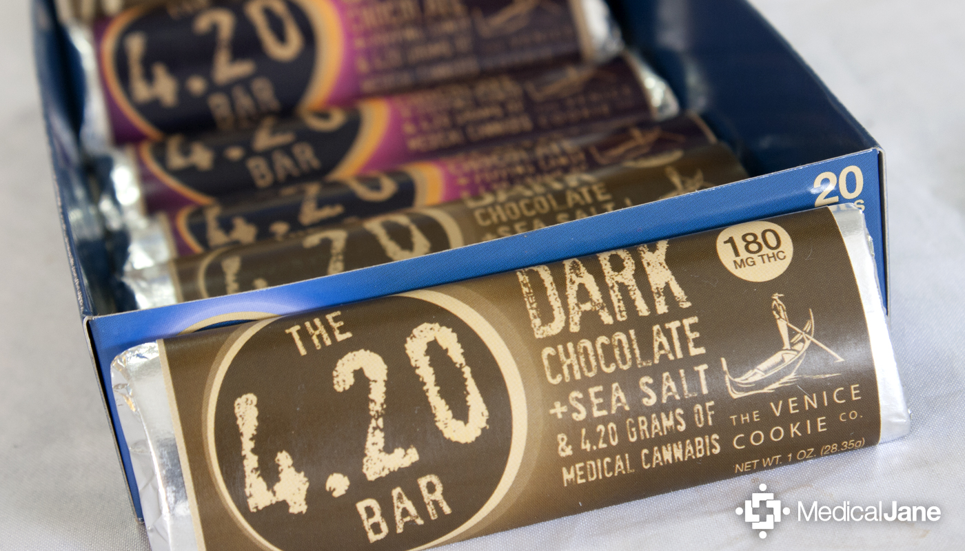 4.20 Bar: Dark Chocolate + Sea Salt from Venice Cookie Co.