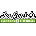 Logo for La Contes Clone Bar & Dispensary