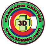 Logo for 3-D Denver's Discreet Dispensary, LLC