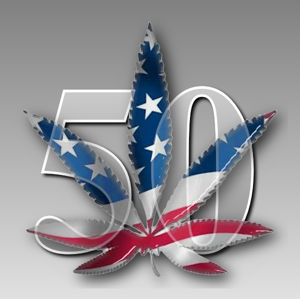 Logo for LEGALIZE50
