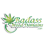 Logo for BadAss Weed Domains