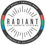 Logo for Radiant LED Growth Systems