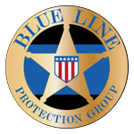 Logo for Blue Line Protection Group, LLC
