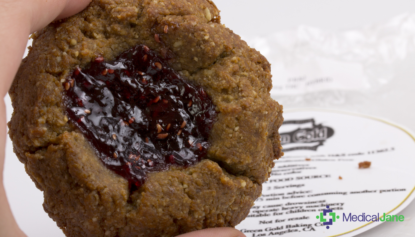 PB and J Cookie from Green Gold Baking Co.