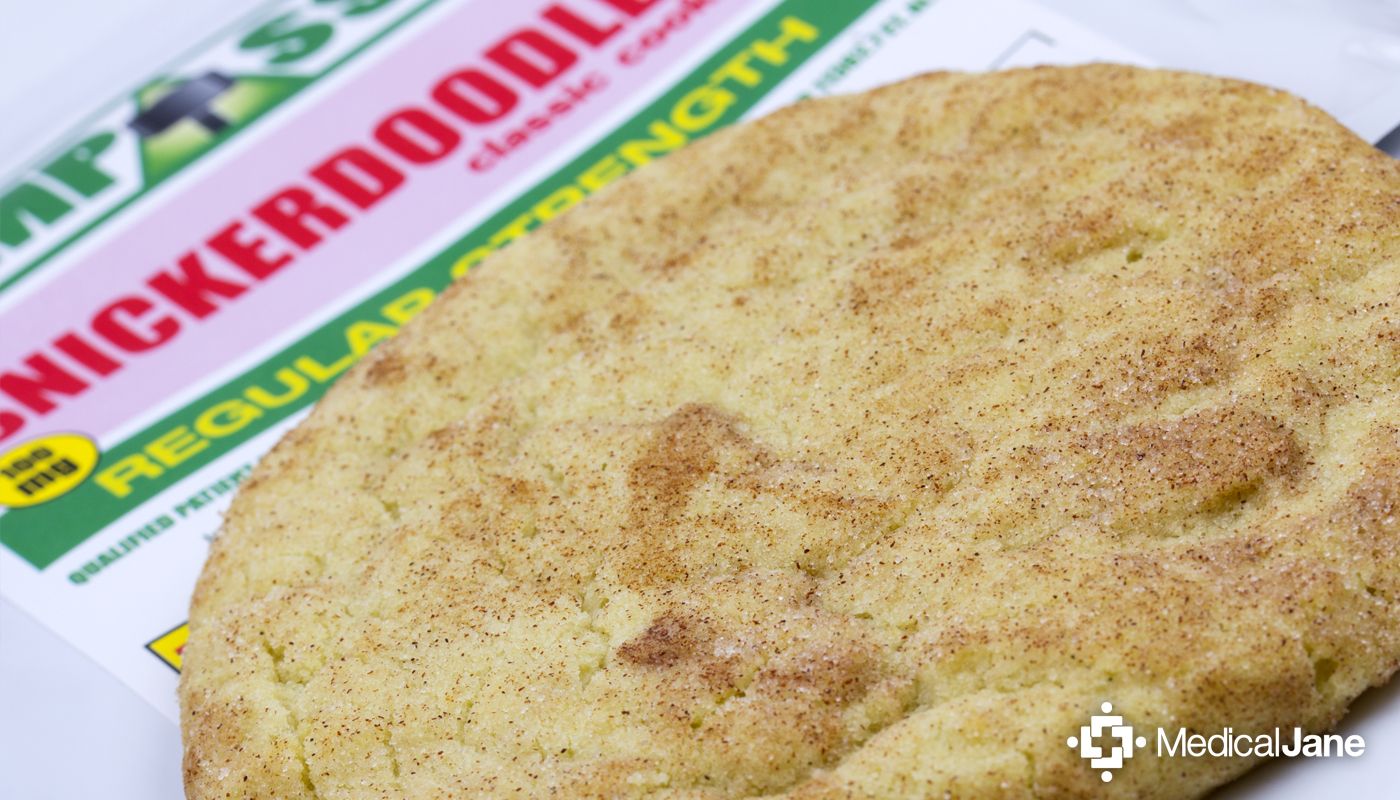 Snickerdoodle Classic Cookie from Compassion Edibles