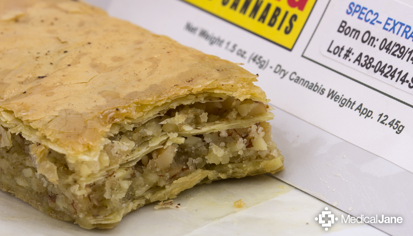 Baklava from Compassion Edibles