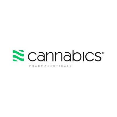 Logo for Cannabics Pharmaceuticals Inc.