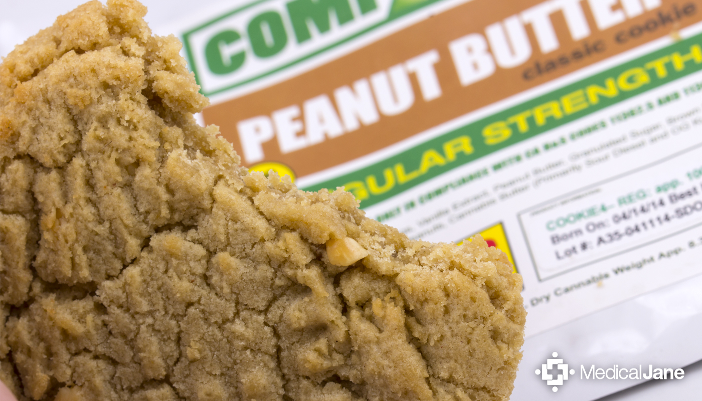 Peanut Butter Classic Cookie from Compassion Edibles