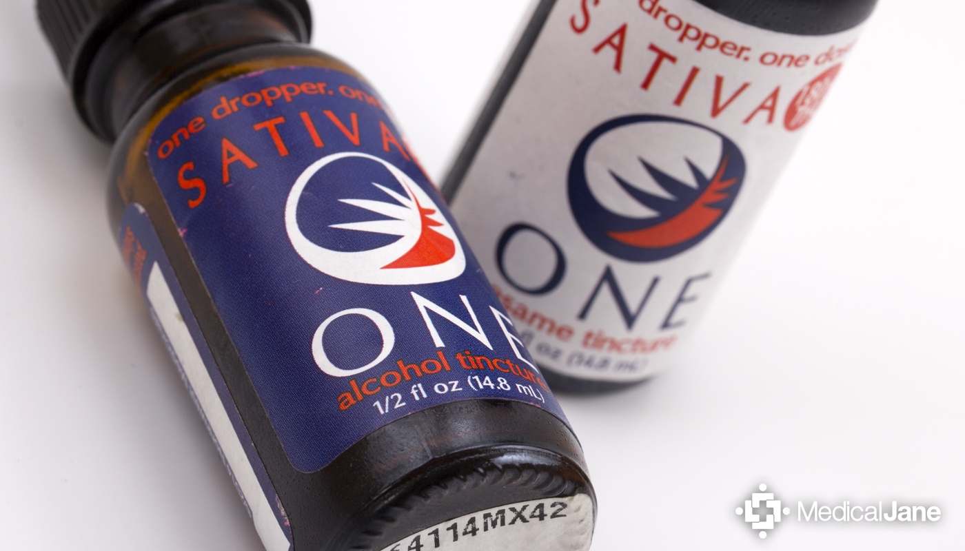 Sativa One Tincture from The Venice Cookie Co.