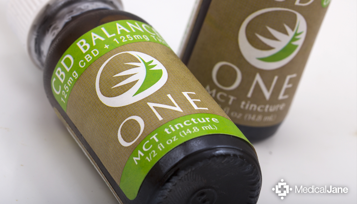 CBD Balance One Tincture from The Venice Cookie Co.