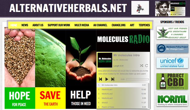 Logo for Alternativeherbals