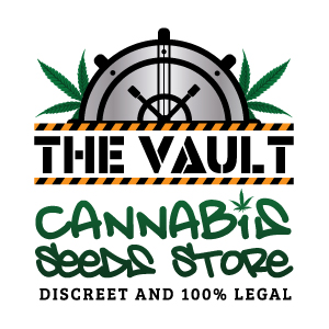 Logo for The Vault Cannabis Seeds Store