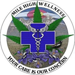 Logo for Mile High Wellness-Green Street