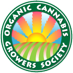 Logo for Organic cannabis growers society