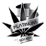 Logo for Platinum Society Medical Marijuana Dispensary