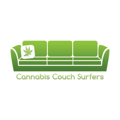 Logo for Cannabis Couch Surfers