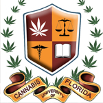 Logo for Cannabis University of Florida