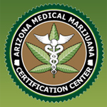 Logo for Arizona Medical Marijuana Certification Centers