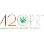 Logo for 420PR Group