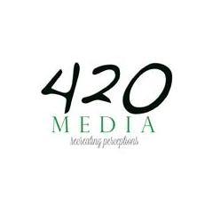 Logo for 420MEDIA