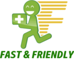 Logo for Fast and Friendly
