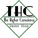 Logo for The Higher Conscience Smoke Shop