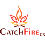Logo for CatchFire CX