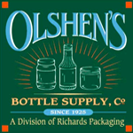 Logo for Olshen's Bottle Supply, Co.