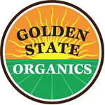 Logo for Golden State Organics